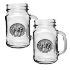 Chadwick Ram Mason Jar Mug Set of 2