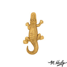 Alligator Brass Door Knocker