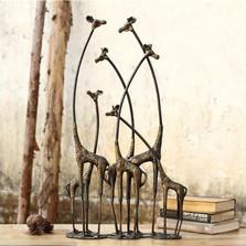 "Giraffe Sculpture ""Towering Herd"" | 50881"