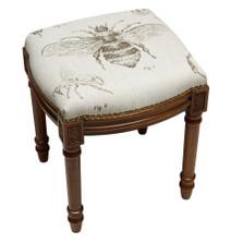 Bee Linen Vanity Stool
