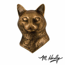Cat Bronze Door Knocker