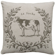 Cow Linen Pillow