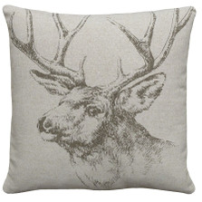 Elk Linen Pillow