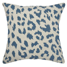 Cheetah Linen Pillow