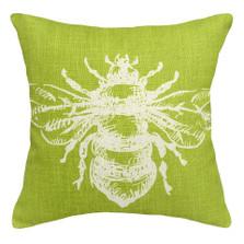 Bumble Bee Linen Pillow