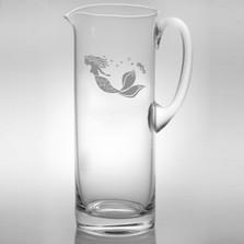 Mermaid Glass Pitcher