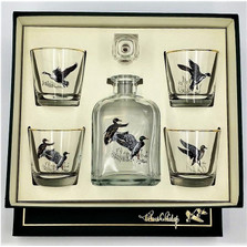 Waterfowl Decanter Set
