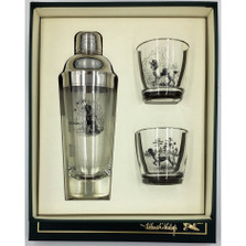 """Dog Cocktail Shaker Set """"Sporting Dogs"""""""