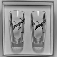"Duck Beer Glass Set ""Third Federal Duck Stamp"""
