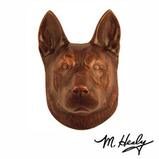 German Shepherd Aluminum Door Knocker