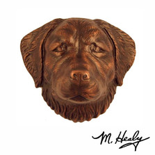 Golden Retriever Aluminum Door Knocker