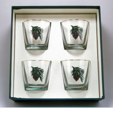 Pinecone Cocktail Glass Set