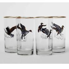 "Duck Iced Tea Glass Set ""Waterfowl"""