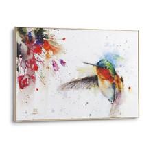 "Hummingbird Canvas Wall Art ""Jewel"""