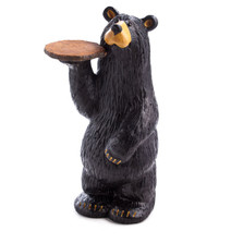 "Bear Sculpture ""Waiter Bear Grand"""