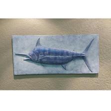 Blue Marlin Bas Relief Ltd Edition Wall Art