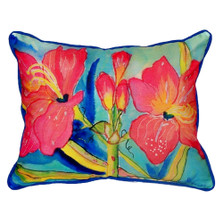Amaryllis Indoor Outdoor Pillow 20x24