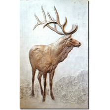 Elk Bas Relief Ltd Edition Wall Art