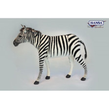 Zebra Seat Stuffed Animal Bench