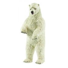 Polar Bear Life-Sized Standing Stuffed Animal