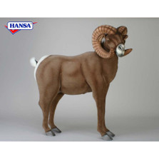 Big Horn Ram Stuffed Animal