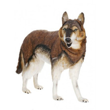 Timber Wolf Large Stuffed Animal