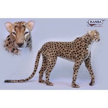 Cheetah Standing Stuffed Animal