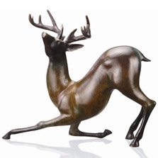 Contemporary Deer Sculpture | 80162