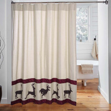 Deer Wyatt Shower Curtain
