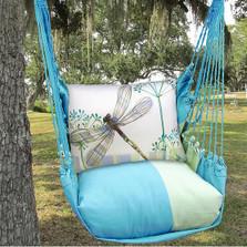 Dragonfly Hammock Chair Swing Blue