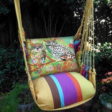 Owl Pair Hammock Chair Swing