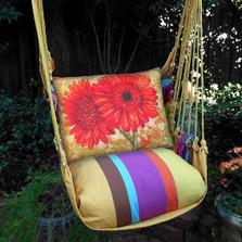 Gerbera Daisies Hammock Chair Swing