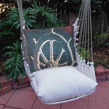 Ship Wheel Hammock Chair Swing