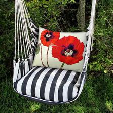 Poppies Hammock Chair Swing