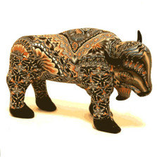 Buffalo Papa Figurine New