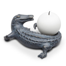Alligator Candle Holder | 34657