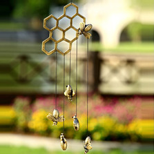 Bee and Honeycomb Wind Chime | 34285