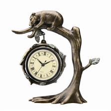 Bear on Tree Desk Clock | 33394