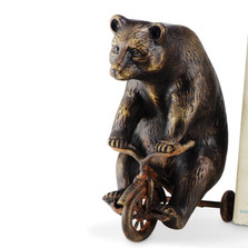 Bear on Trike Sculpture | 33639