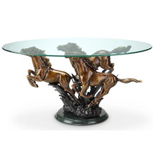 Galloping Horse Trio Coffee Table | 34069