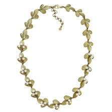 Barberry Adjustable Contour Necklace | Nature Jewelry