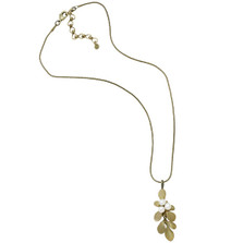 Barberry Pearl Pendant Necklace | Nature Jewelry