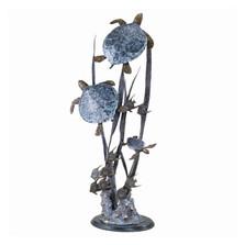 "Sea Turtle Trio ""Seascape"" Sculpture | 30035"