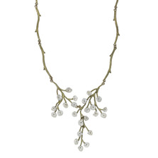 Baby's Breath Adjustable Necklace | Nature Jewelry