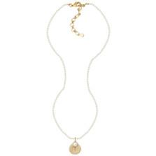 Sea Scallop Pendant Pearl Necklace | Nature Jewelry