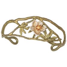 Tundra Rose Cuff Bracelet | Nature Jewelry