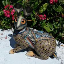 Rabbit Mama Figurine New | FimoCreations | FBRM