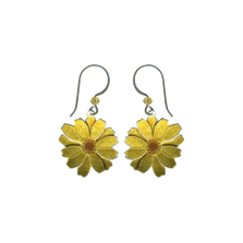 Daisy Wire Earrings | Nature Jewelry