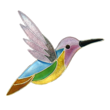 Jazz Hummingbird Pin | Nature Jewelry