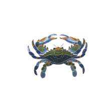 Blue Crab Pin | Nature Jewelry